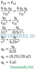 Hukum Coulomb - 2