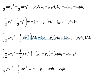 Prinsip dan Persamaan Bernoulli 4